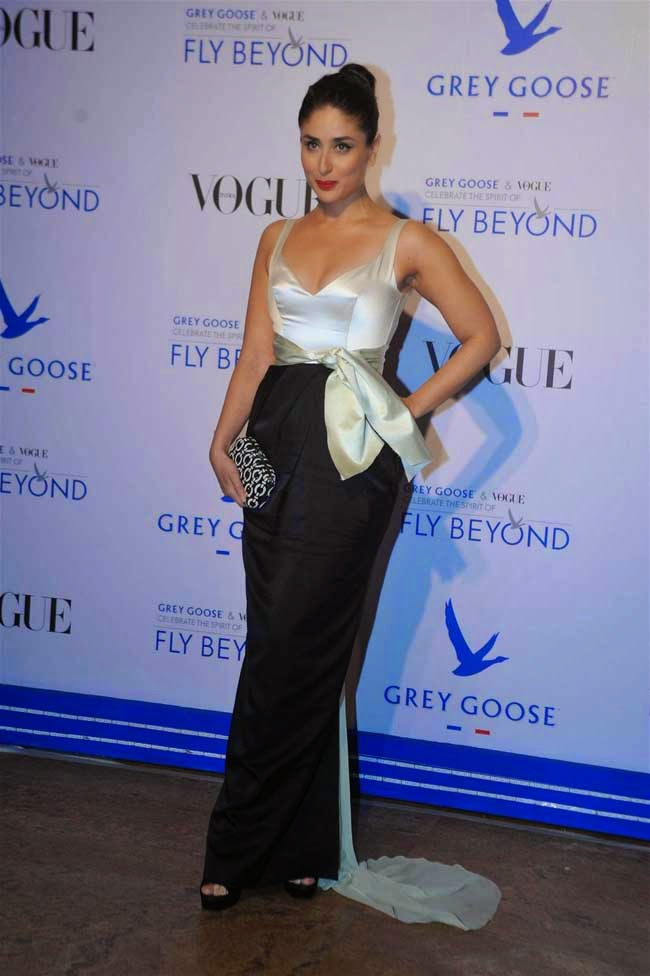 Kareena Kapoor at Grey Goose Fly Beyond Awards 2014