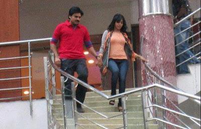 Pawan kalyan, samantha trivikram new movie working stills