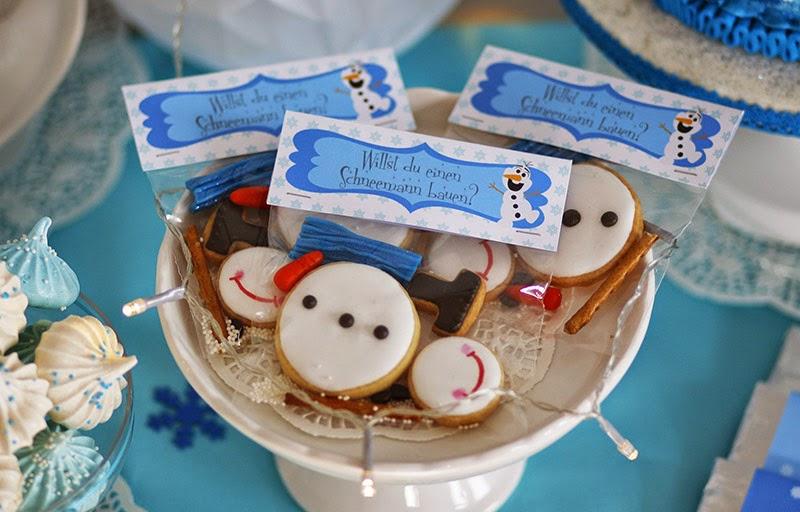 Snowman cookies