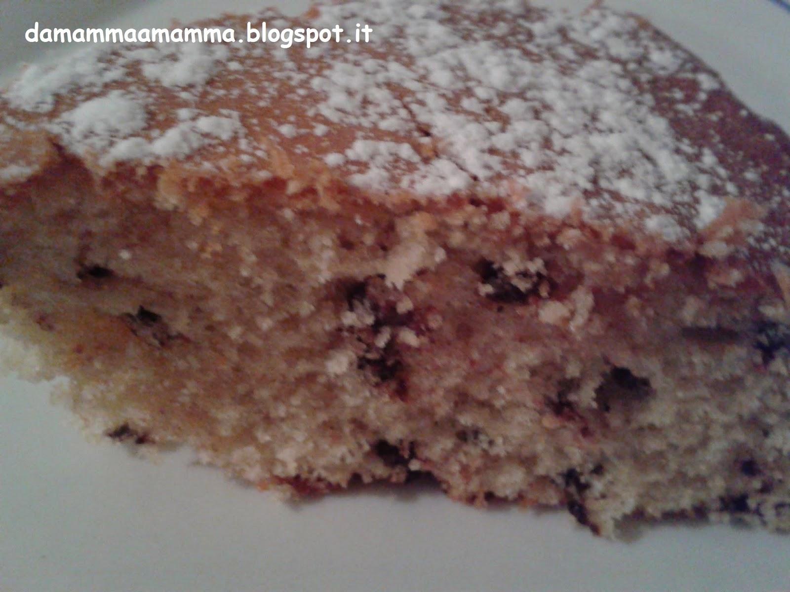 Famoso Ricetta: Torta allo yogurt alla fragola e gocce di cioccolato ~ Da  BQ04