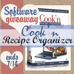 recipes, recipe organizer, software, cooking, baking