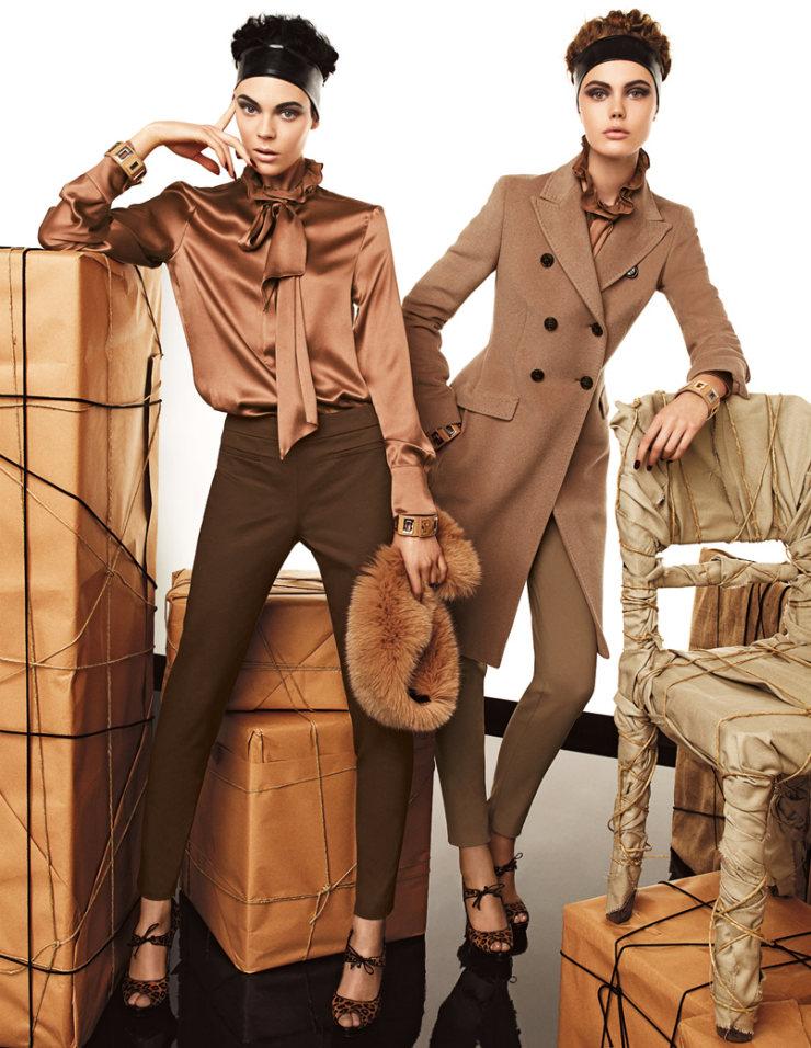 max mara studio coats. Max Mara | Studio Fall 2011 Campaign