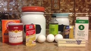 Harry Potter ButterBeer Cupcake Ingredients