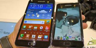 Penampakan Samsung Galaxy Note 2