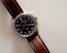 David's awesome Zenith Pilot on Antique Walnut leather