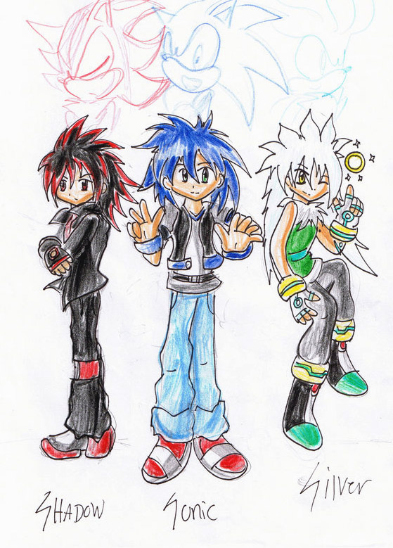 Sonic sonic heroes - Sonic et shadow ...