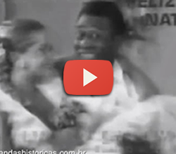 Propaganda da Francisco Xavier Imóveis nos anos 80 com Xuxa e Pelé.