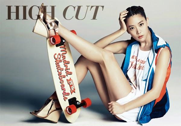 Clara - High Cut Magazine Vol.123