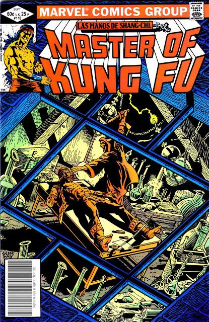 Portada de Master of Kung Fu Nº 116 traducido