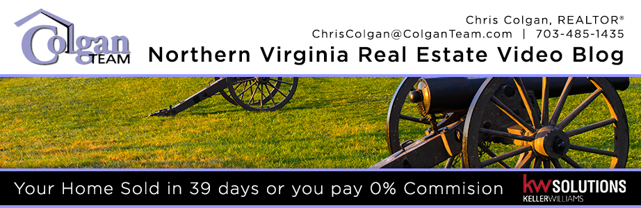 Northern Virginia Real Estate Video Blog with Chris Colgan