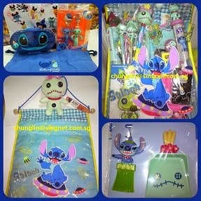 HKDL / JPDL SCRUMP + STITCH ITEMS