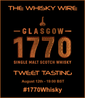 Glasgow 1770 Whisky Tweet Tasting