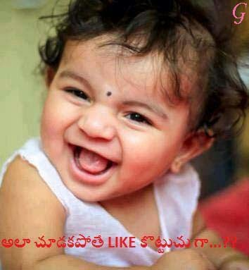 Cute Smile Baby Pictures-Baby Photos