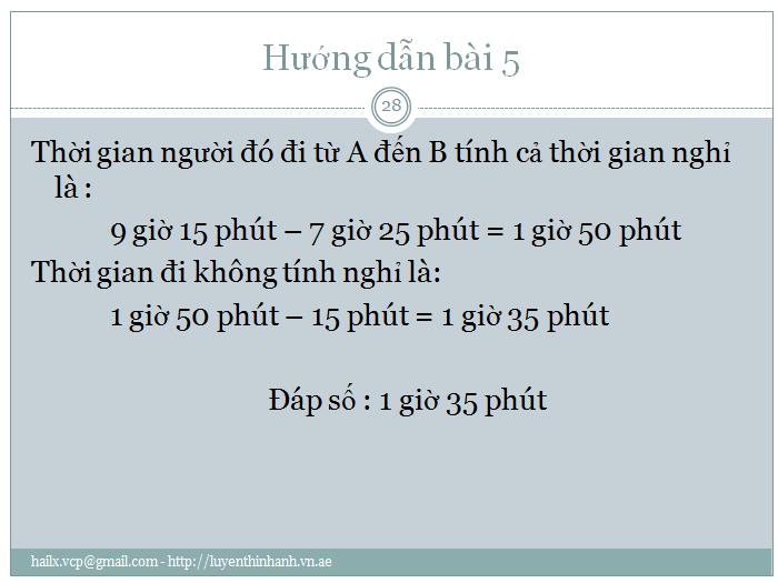 Các bài toán về thời gian toán lớp 5 (28)