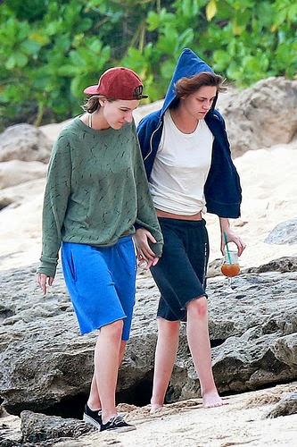 Kristen Stewart with Alicia