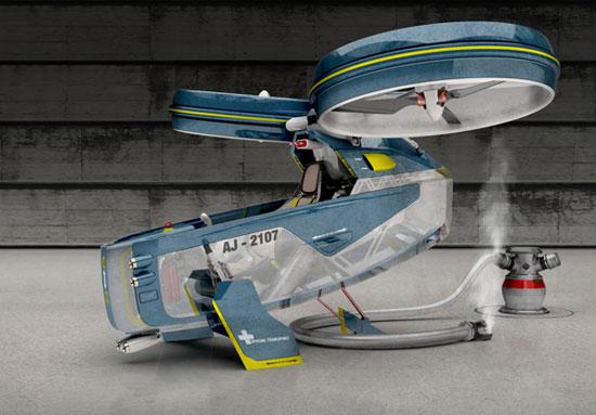 Megacity Aviation by Alex Jantschke