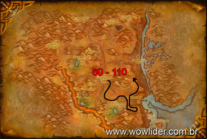 wow loch modan how to get to