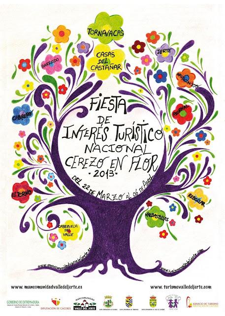 Cartel Oficial Cerezo en Flor 2013