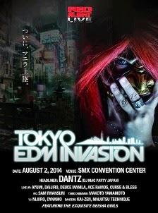 Tokyo EDM Invasion 2014