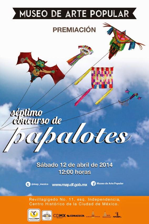 Exhibición y premiación del 7mo. Concurso de Papalotes en el Museo de Arte Popular