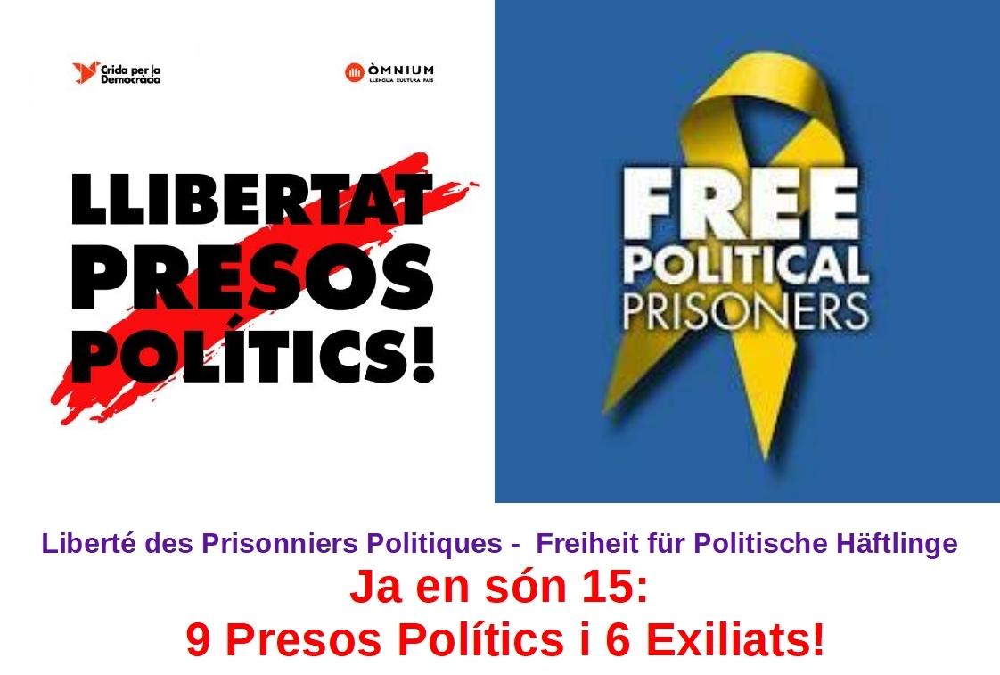 Llibertat Presos Polítics i Exiliats