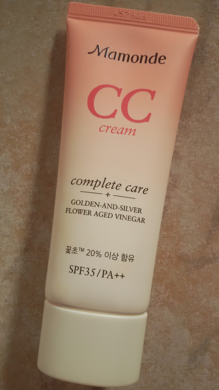 Mamonde CС-cream Complete Care golden-and-silver flower aged vinegar SPF35/PA++