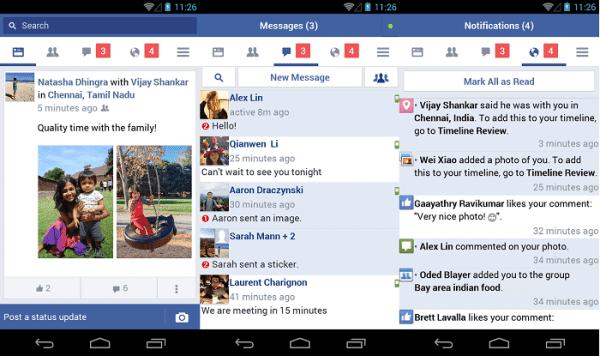 """فايسبوك تطلق تطبيقها الجديد """" Facebook Lite """""""