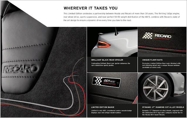 Mazda MX-5 Sport Recaro