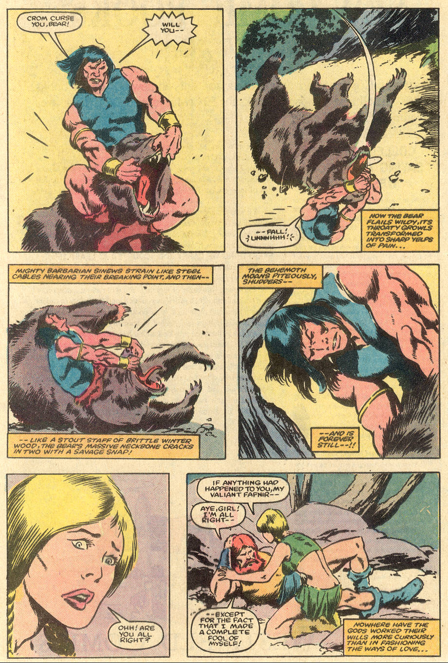 Conan the Barbarian (1970) Issue #163 #175 - English 9