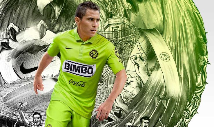 Nueva camiseta Nike del América de México color verde