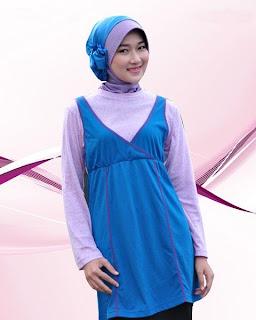 Kaos Muslimah Exora A-032 Tosca