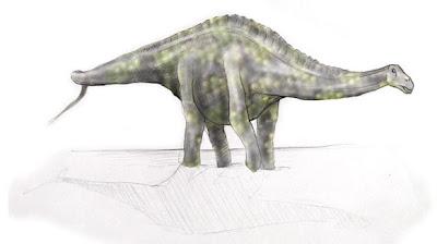 Rebbachisaurus dinosaurios del cretaceo