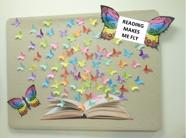 READING MAKES ME FLY