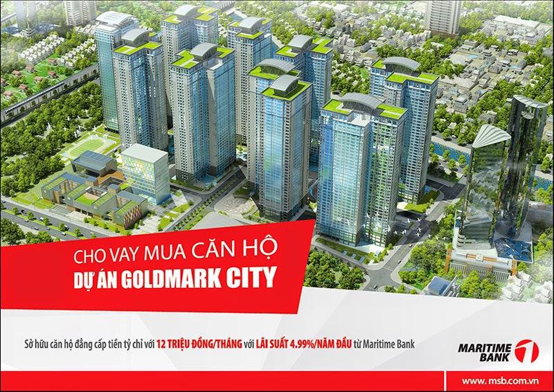 Ưu đãi khi mua căn hộ tại Goldmark City