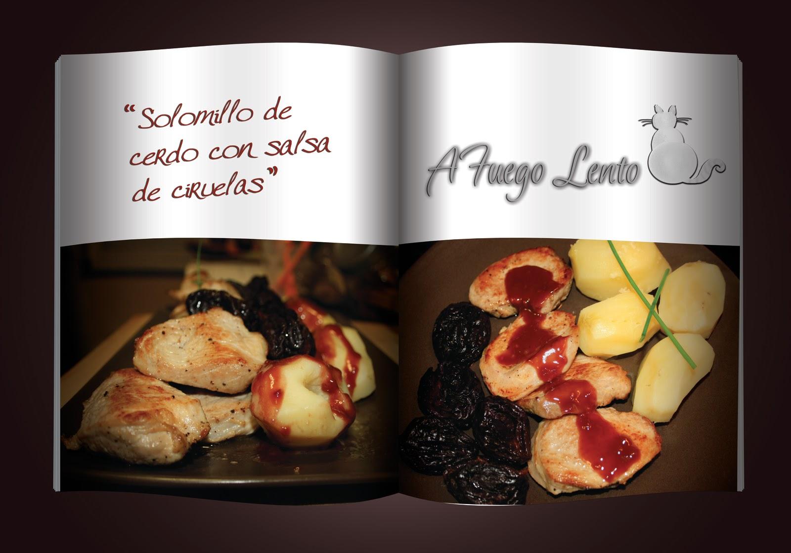 A fuego lento en mi cocina solomillo de cerdo con ciruelas for Salsa para solomillo
