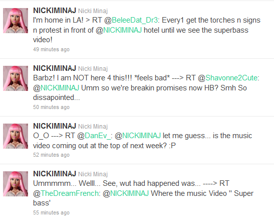 nicki minaj super bass album artwork. Nicki Minaj#39;s #39;Super Bass#39;