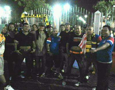 Kasual Perak & Ex-Skinheads @ Malaysia vs Singapore
