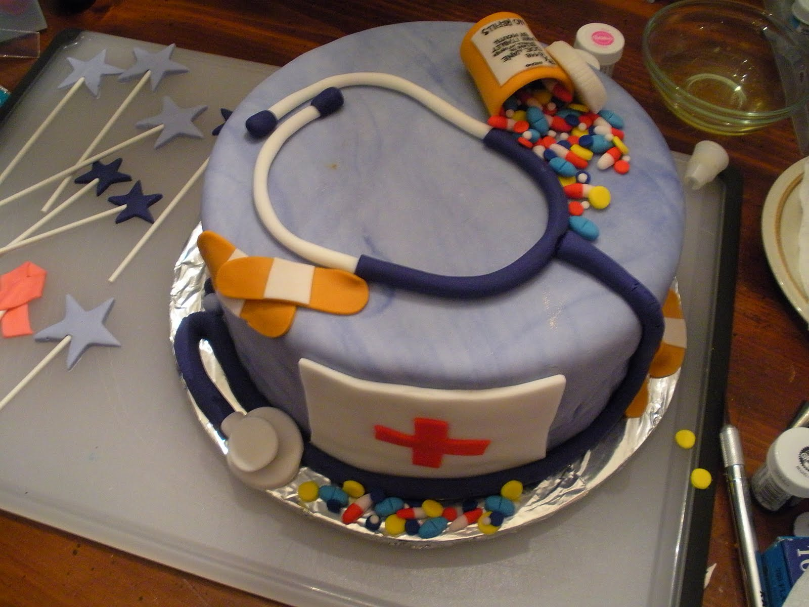 Beachy Cakes Nurse Cake