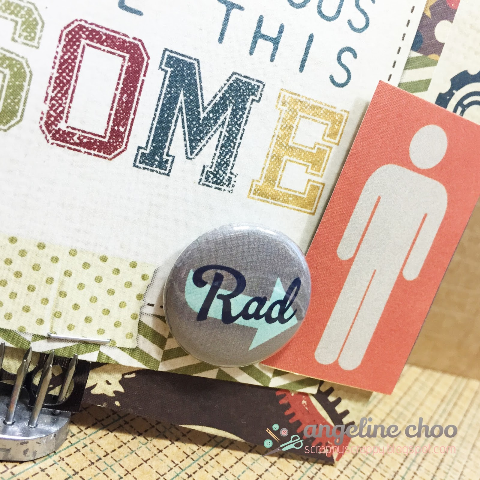 ScrappyScrappy: Dad you rock! #scrappyscrappy #scrapncrop #card #fathersday