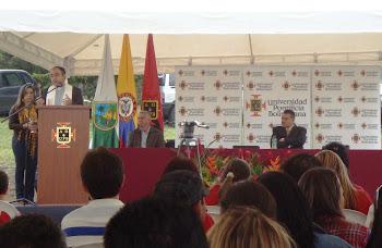 Acto de Bendición de las nuevas obras UPB Marinilla
