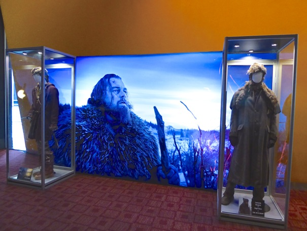 The Revenant movie costume exhibit