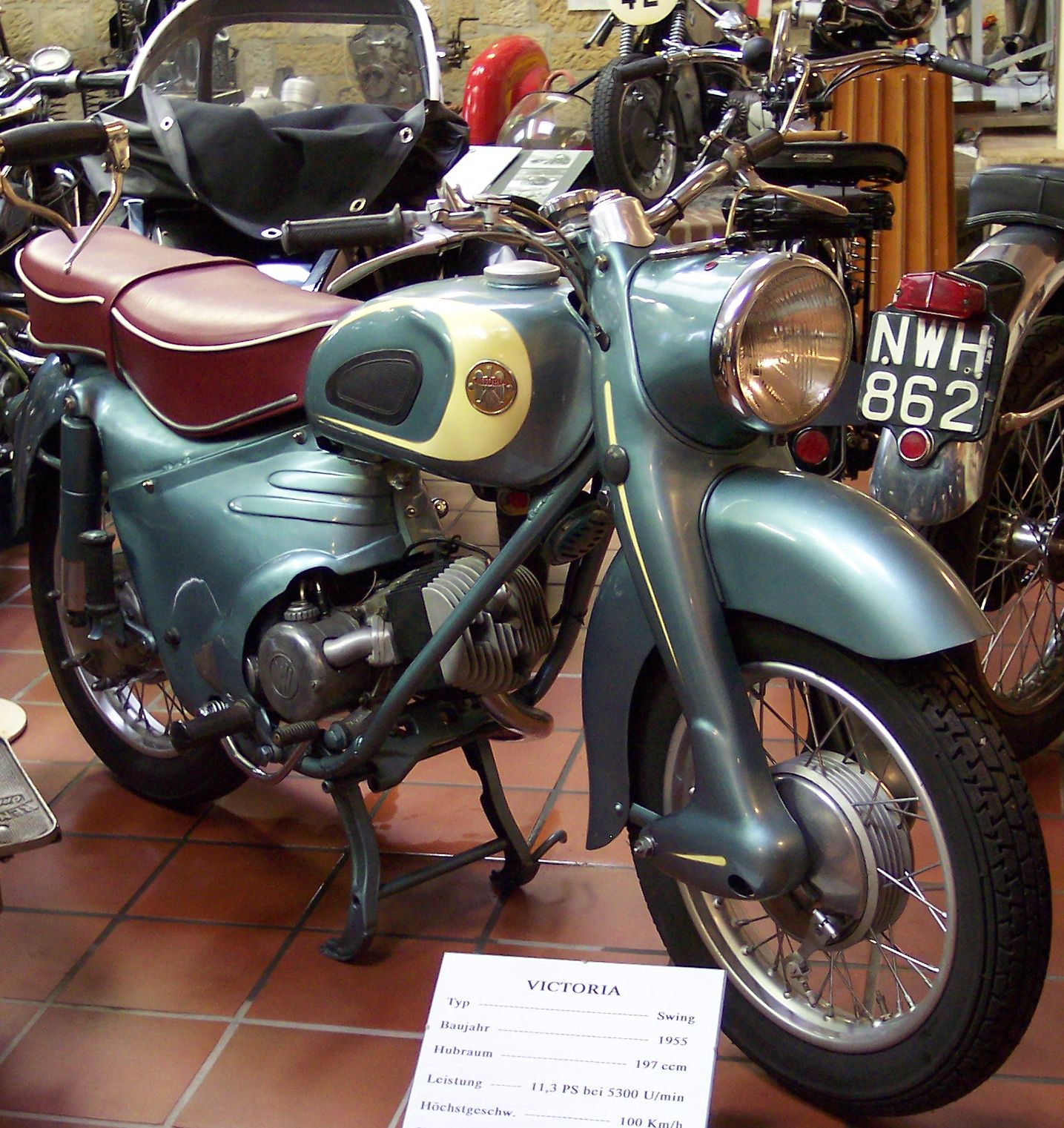 1955 Victoria KR21 Swing Motorcycle