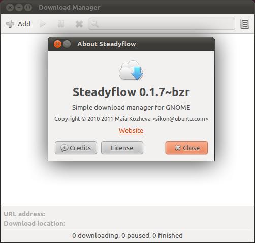 SteadyFlow: Download manager yang minimalis