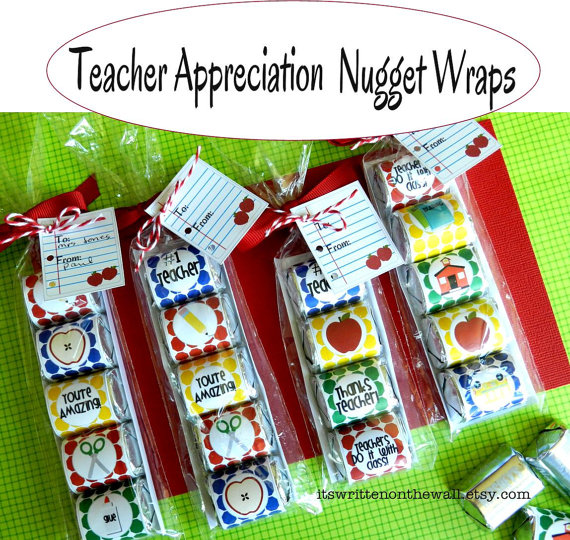 Sweet Treats for Teacher Appreciation