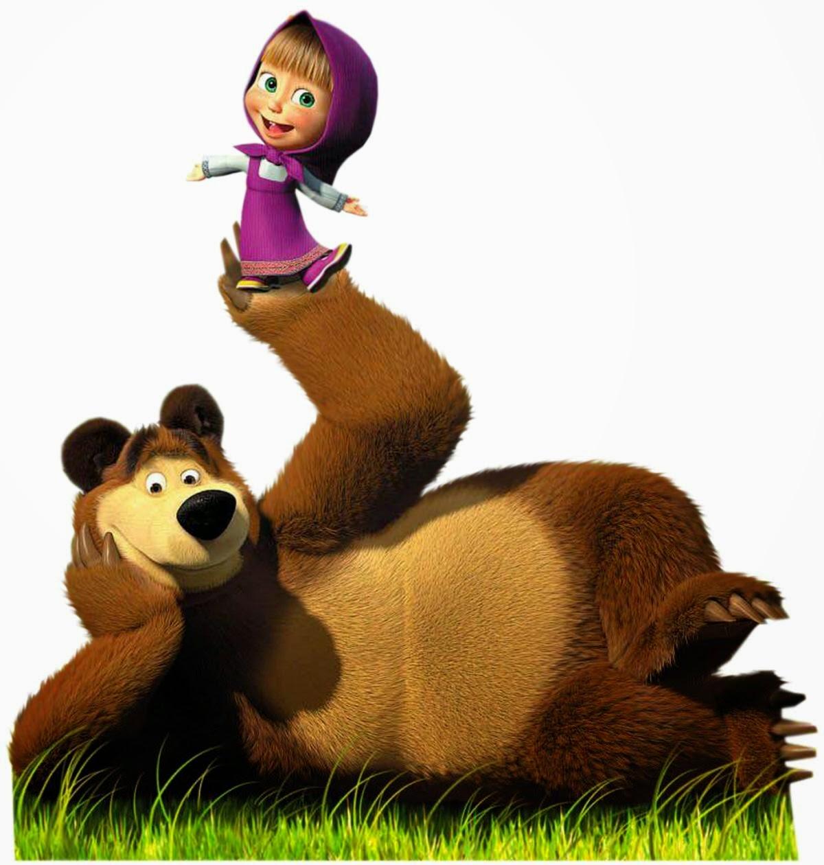Gambar Masha and The Bear Boneka Lucu Funny Toys