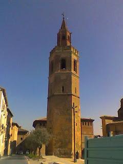 Torre Campanario de la Catedral de Barbastro (Somontano, Huesca, Aragón, España)