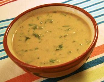 حساء البطاطا بالعدس