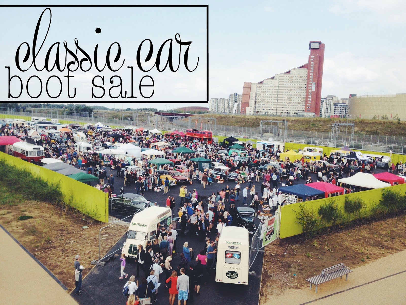 Classic Car Boot Sale - where the heart is