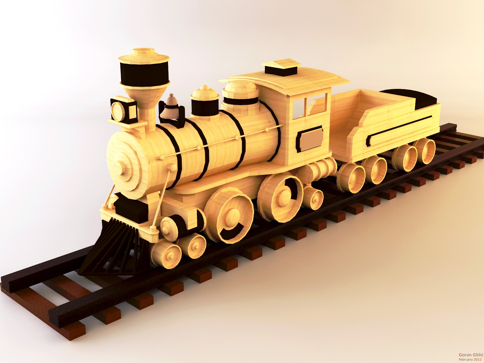 Goran Glišić | Gallery | Train+toy+render+by+goranglisic