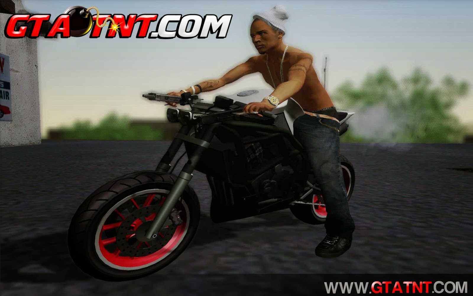 Akuma Convertido do GTA V para GTA San Andreas